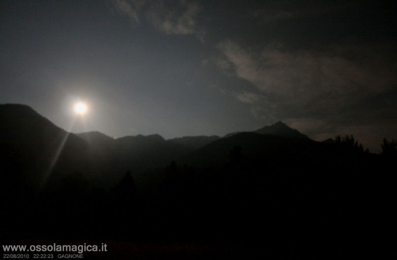 Notte in val Vigezzo