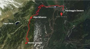 Piantina Monte Cazzola
