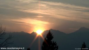 Tramonto in val Vigezzo