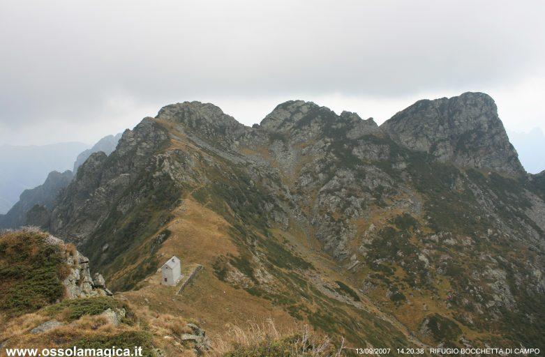 Bivacco bocchetta di Campo in val Grande (settembre 2007)