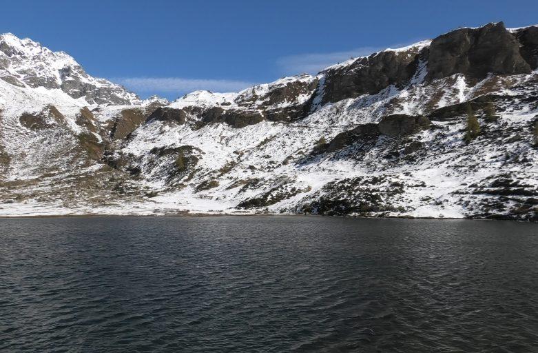 Lago di Pianboglio in alpe Devero (ottobre 2020)